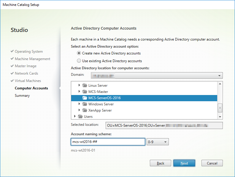 Active Directory Computer Accounts