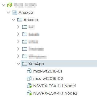 New virtual machines in vSphere Web Client